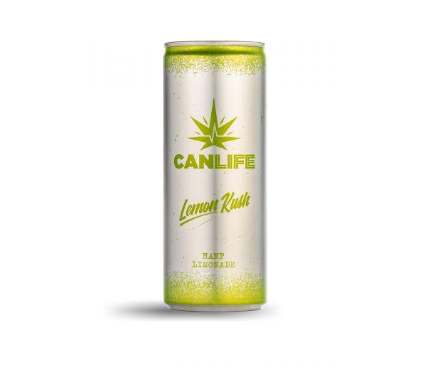 "Canlife ""Lemon Kush"" - Hanferfrischungsgetränk"