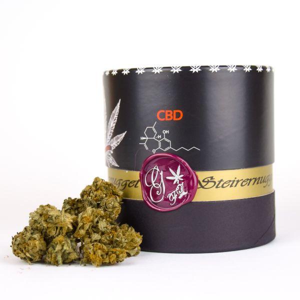 """Steirernugget """"Raspberry Kush"""" 3,6 % CBD/CBDa"""